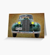 0297 My Limo Greeting Card
