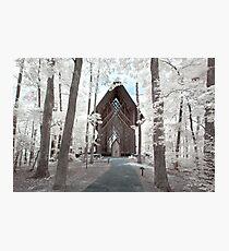 Anthony Chapel, Garvan Woodland Gardens - Infrared Photographic Print