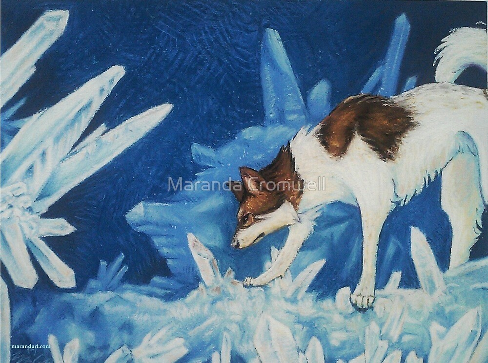 Baldr and the Crystals by Maranda Cromwell