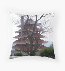 Pagoda on the Mountain Throw Pillow