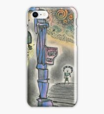 """BUS STOP"" iPhone Case/Skin"