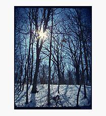 Shining White Photographic Print