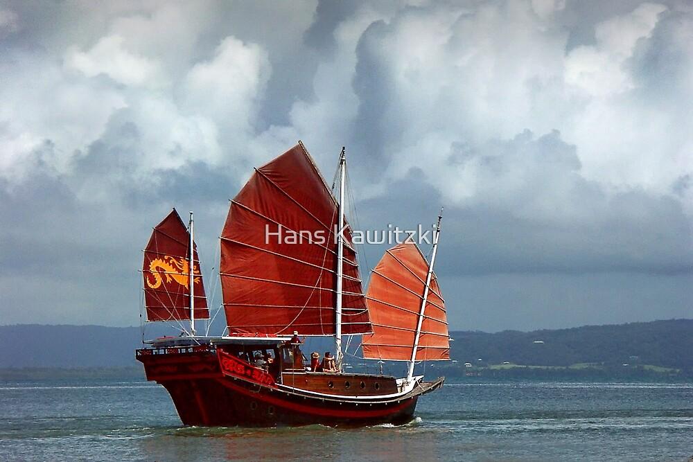 0399 Red sails by Hans Kawitzki