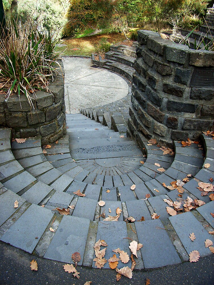 Stone Stairs by Arlene Advocat