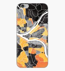 Pittsburgh Map iPhone Case