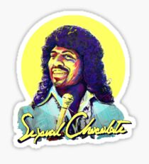 SEXUAL CHOCOLATE MERCHANDISE Sticker