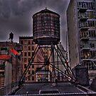 Water Tower by Peter Bellamy
