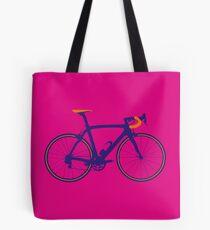 Bike Pop Art (Purple & Orange) Tote Bag