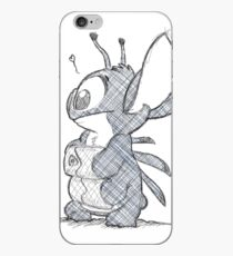 Sketchy Stitch iPhone Case