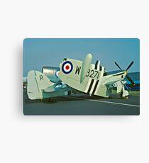 Fairey Firefly AS.5 WB271/R folded Canvas Print