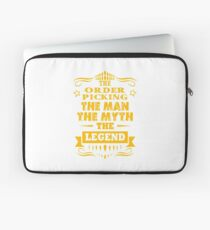 ORDER PICKING THE MAN THE MYTH THE LEGEND Laptop Sleeve