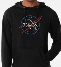 NASA Aesthetic Japanese Neon Logo  Lightweight Hoodie