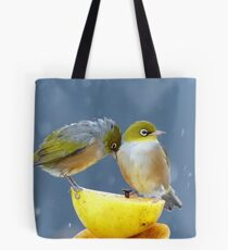 I'm Cold, Wet And Tired... I Just Wanna Go Home... -Silver-Eyes - NZ Tote Bag