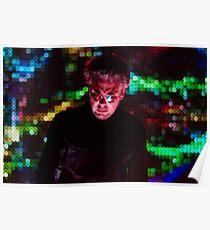 Jean Michel Jarre - Electronica Tour - Los Angeles 2017 Poster