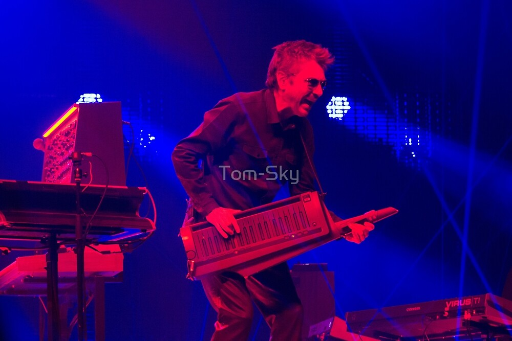 Jean Michel Jarre - Electronica Tour - Los Angeles 2017 by Tom-Sky