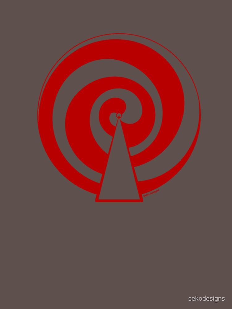 Mandala 9 Colour Me Red by sekodesigns
