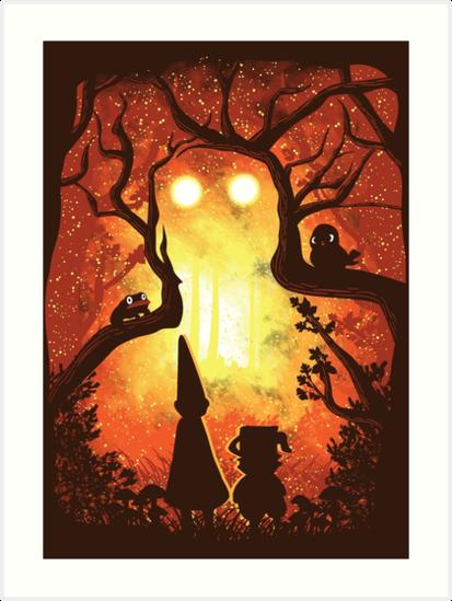 Enchanted Forest by Daletheskater