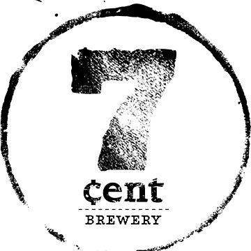 7 cent logo in black by 7centBrewery