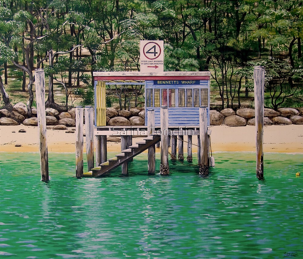 Four Knots - Bennett's Wharf Pittwater by Sarina Tomchin