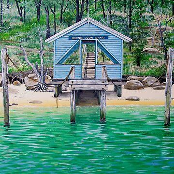 Bonnie Doon Wharf - Pittwater by tomchin6