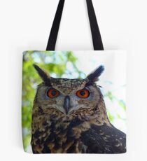 I'm Silent... But Deadly!- Spotted-Eagle Owl - SA Tote Bag