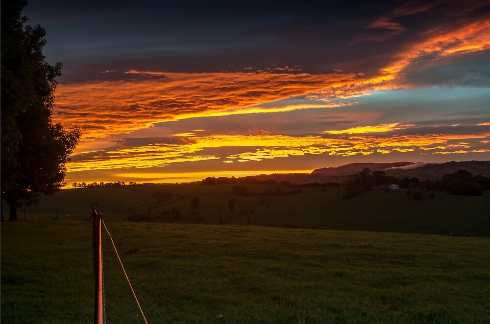 Summer Sunset by caths13