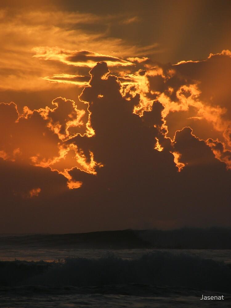 Sunrise Surf by Jasenat