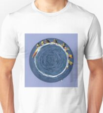 banana boating in a small blue world Unisex T-Shirt