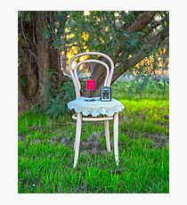 Lovely Little Bentwood Chair... Photographic Print
