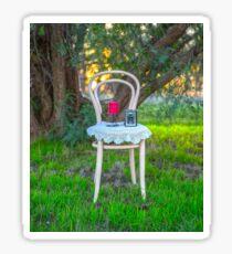 Lovely Little Bentwood Chair... Sticker