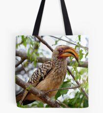 I'm Not Photogenic!! - Southern Yellow-Bill Hornbill - SA Tote Bag