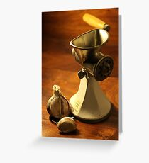 Model S B - Mincer Greeting Card
