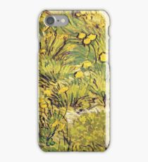 A Field of Yellow Flowers 1889 Vincent van Gogh iPhone Case/Skin