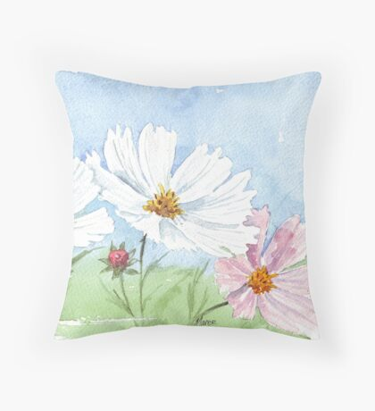 March is Cosmos-time! Throw Pillow