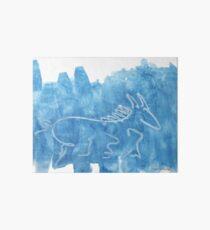 Blue Horse Art Board