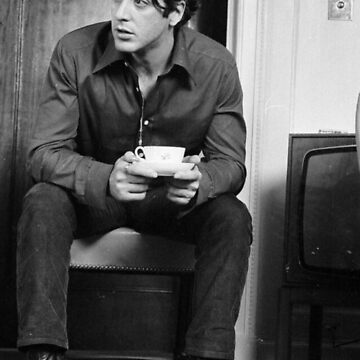 Al Pacino drinking coffee  by Leafyblues