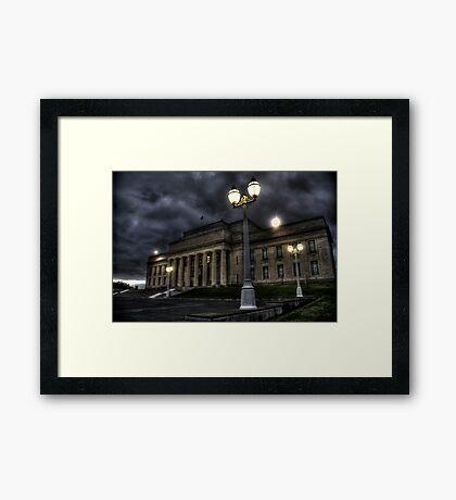 Auckland Museum Framed Print