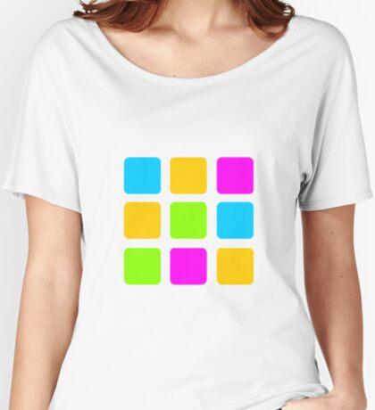 Color Grid Baggyfit T-Shirt