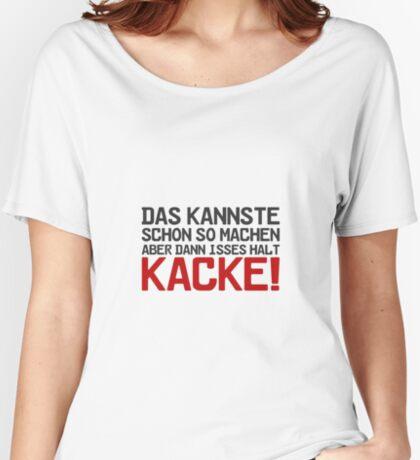 Das kannste schon so machen... Baggyfit T-Shirt