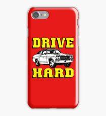 MUSCLE CAR-DRIVE HARD iPhone Case/Skin