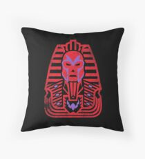 Pharaoh of Magnets Throw Pillow