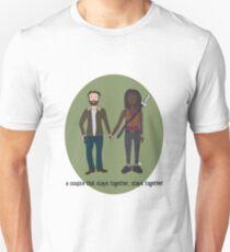 A Couple That Slays Together (Richonne) Unisex T-Shirt