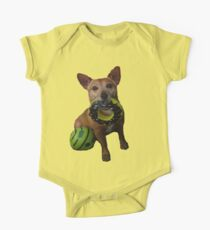 cute dog One Piece - Short Sleeve
