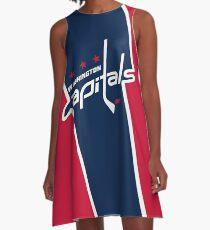 Washington Capitals A-Line Dress
