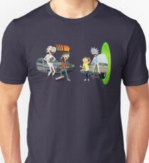 Rick and Morty Meet Doc and Marty Unisex T-Shirt