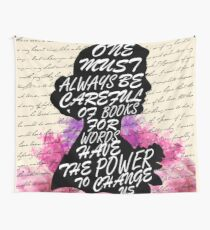 Words have the power to change us Wall Tapestry