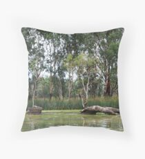 Murray River - Renmark - South Australia Throw Pillow