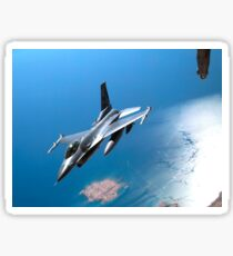 A New York Air National Guard F-16 Fighting Falcon. Sticker