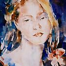 Beautiful Girl Painting - Art Gallery 100 by Ballet Dance-Artist