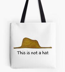 This is not a Hat Tote Bag